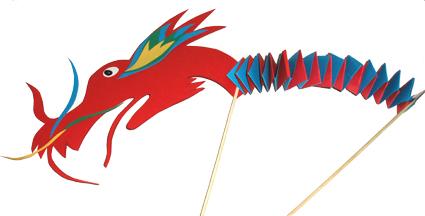 Dragon Chinois Animé Tête à Modeler