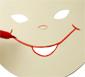 masque garçon asiatique