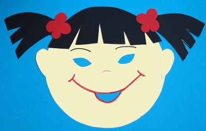 masque fille japonaise