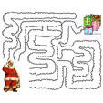 Jeux de labyrinthe pour enfants sur Noël