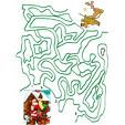 Jeux de labyrinthe pour enfants pour développer l'observation