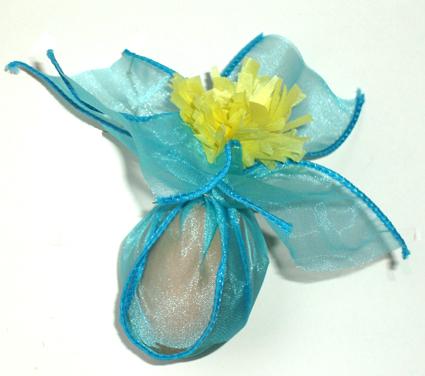 Oeuf de Pâques fleur
