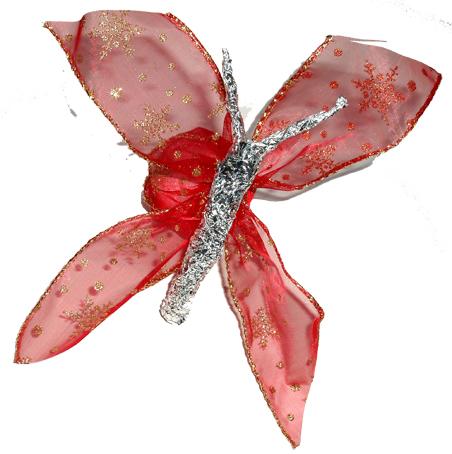 Réaliser un oeuf papillon en ruban pour les décorations de Pâques