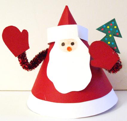 Père Noël au petit sapin