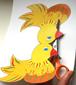 Découpage de la poule de pâques