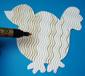 colorier la poule