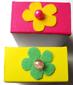tiroir décoré d'une fleur