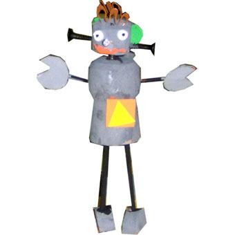Robots en bouchon de li ge t te modeler - Bouchons de liege bricolage ...