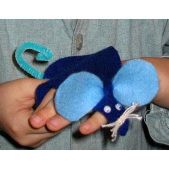 fabriquer un jouet souris