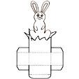 Imprimer le modèle de boîte de lapin
