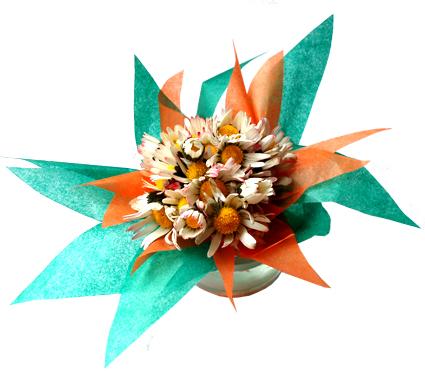 Bouquet de pâquerettes à offrir en cadeau