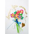 carte bouquet de fleurs
