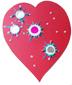 décoration de la boite amour