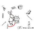 Activité : Aide lapin à remplir son cartable