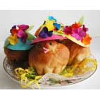 Recette des brioches de Pâques