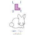 Imprimer le lapin de l'imagier