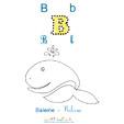 Lettre B de Baleine