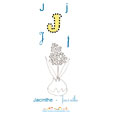 Lettre J de Jacinthe