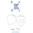 Lettre k de Kali