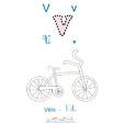 V de vélo
