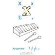 X de xylophone