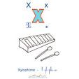 le xylophone pour imagier