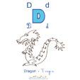 imprimer le dragon de l'imagier