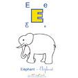 imprimer l'éléphant de l'imagier