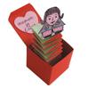 boite jack in the box avec message