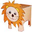 Coller la tête du lion