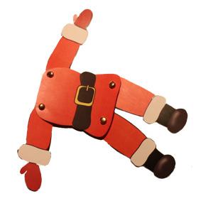 Père Noël en carton