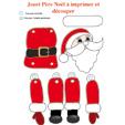 Imprimer le Jouet Père Noël articulé