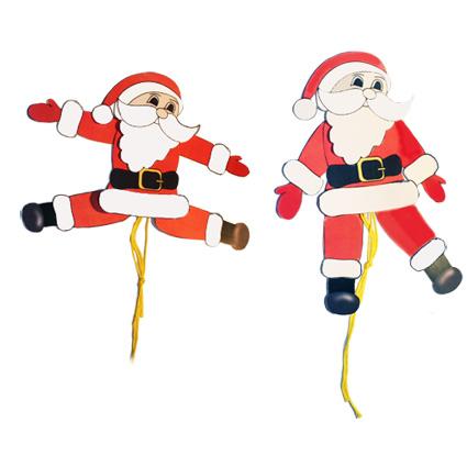 Jouet Père Noël, Père Noël articulé