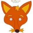 Imprimer le masque renard
