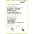 le lièvre et les grenouilles à imprimer