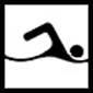 Pictogramme natation