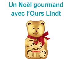 Un Noël gourmand avec l'Ours Lindt