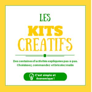 300 kits créatifs expliqués, faciles et pas chers