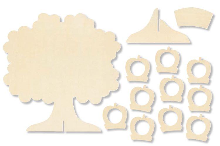 arbre g n alogique d coratif enfant famille t te modeler. Black Bedroom Furniture Sets. Home Design Ideas