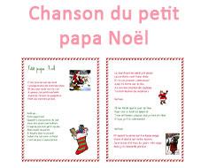 Chanson du petit papa Noël
