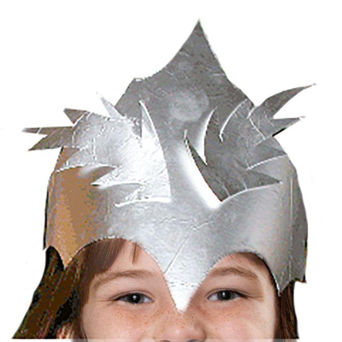 couronne de fée argentée