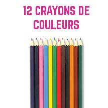 12 crayons de couleurs