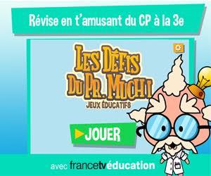 Les jeux et vidéos en ligne de francetv éducation