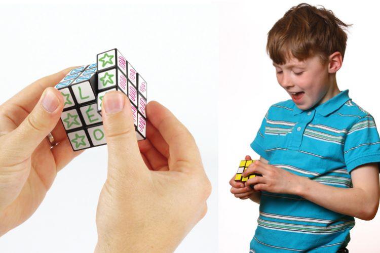 cube de rubik personnaliser jouet t te modeler. Black Bedroom Furniture Sets. Home Design Ideas