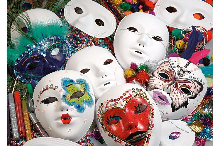 prix plancher prix plancher coupon de réduction Peindre un masque de Venise simple - Tête à modeler