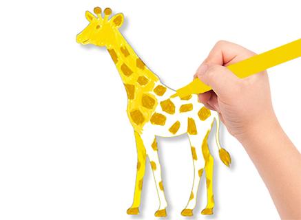 Colorier les animaux d'Afrique