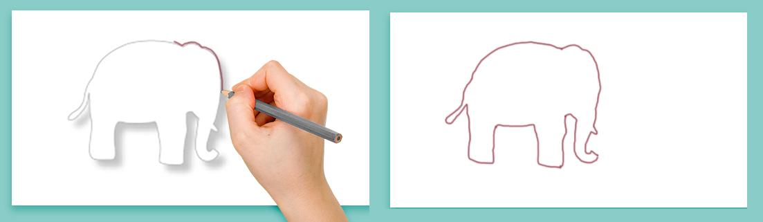 Utiliser les silhouette pour dessiner d'autres animaux