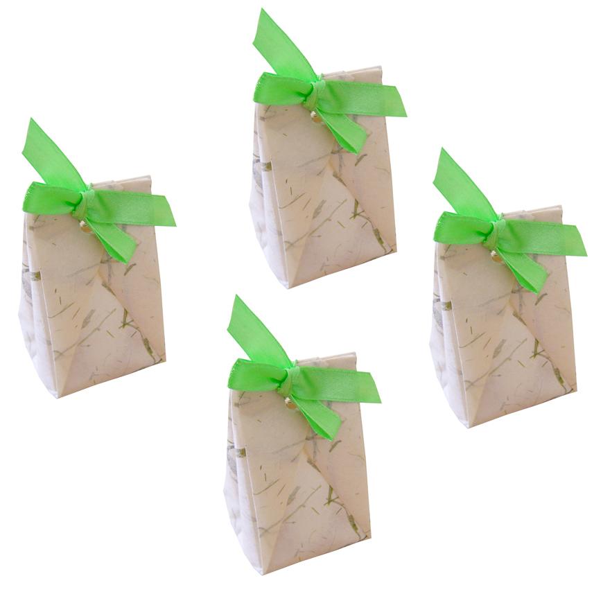Sachets à dragées origami