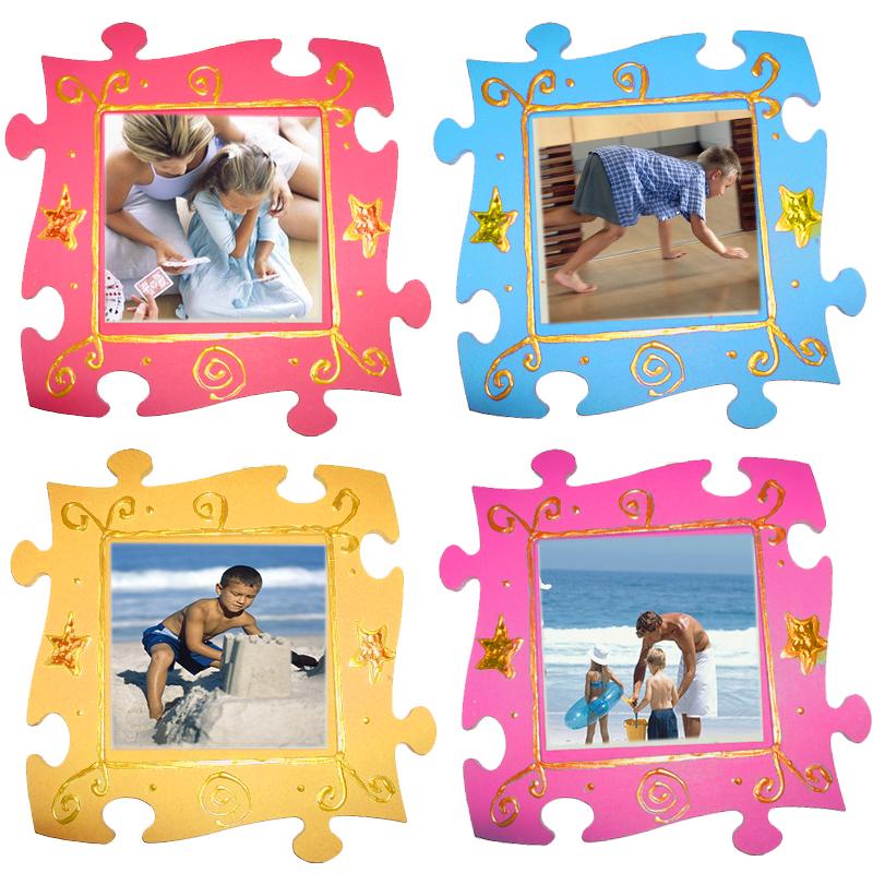Cadre photo puzzle
