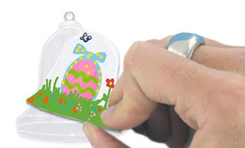Positionner la cloche en papier